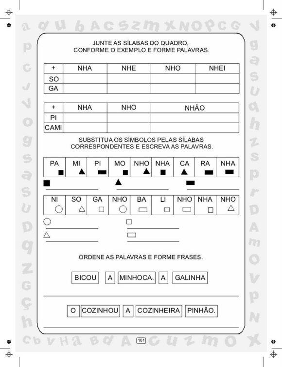 CIRANDA DAS SÍLABAS VOLUME 5 SEM PROTEÇÃO0098