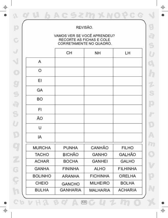 CIRANDA DAS SÍLABAS VOLUME 5 SEM PROTEÇÃO0120